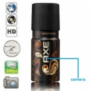 2K HD 32GB Axe Perfume Bottle Camera