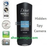 Men Shower gel Camera Remote Control On/Off And Motion Detection Record