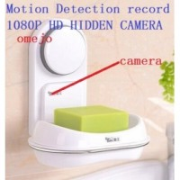 1080P HD Motion Detection Soap Box Pinhole Camera Hidden Bathroom Spy Camera DVR