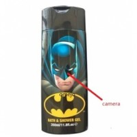 BATMAN Shower Gel Bottle Camera Remote Control